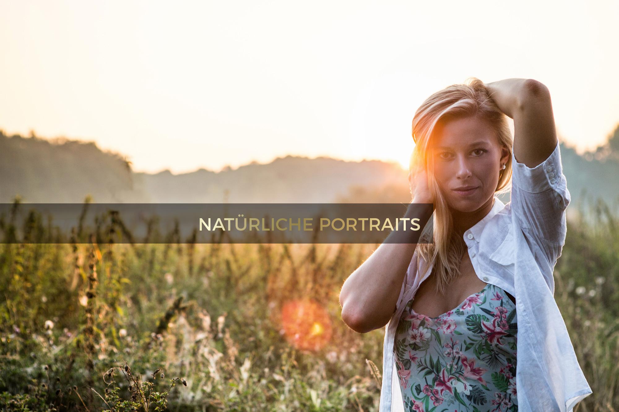 Natürliche Portaits